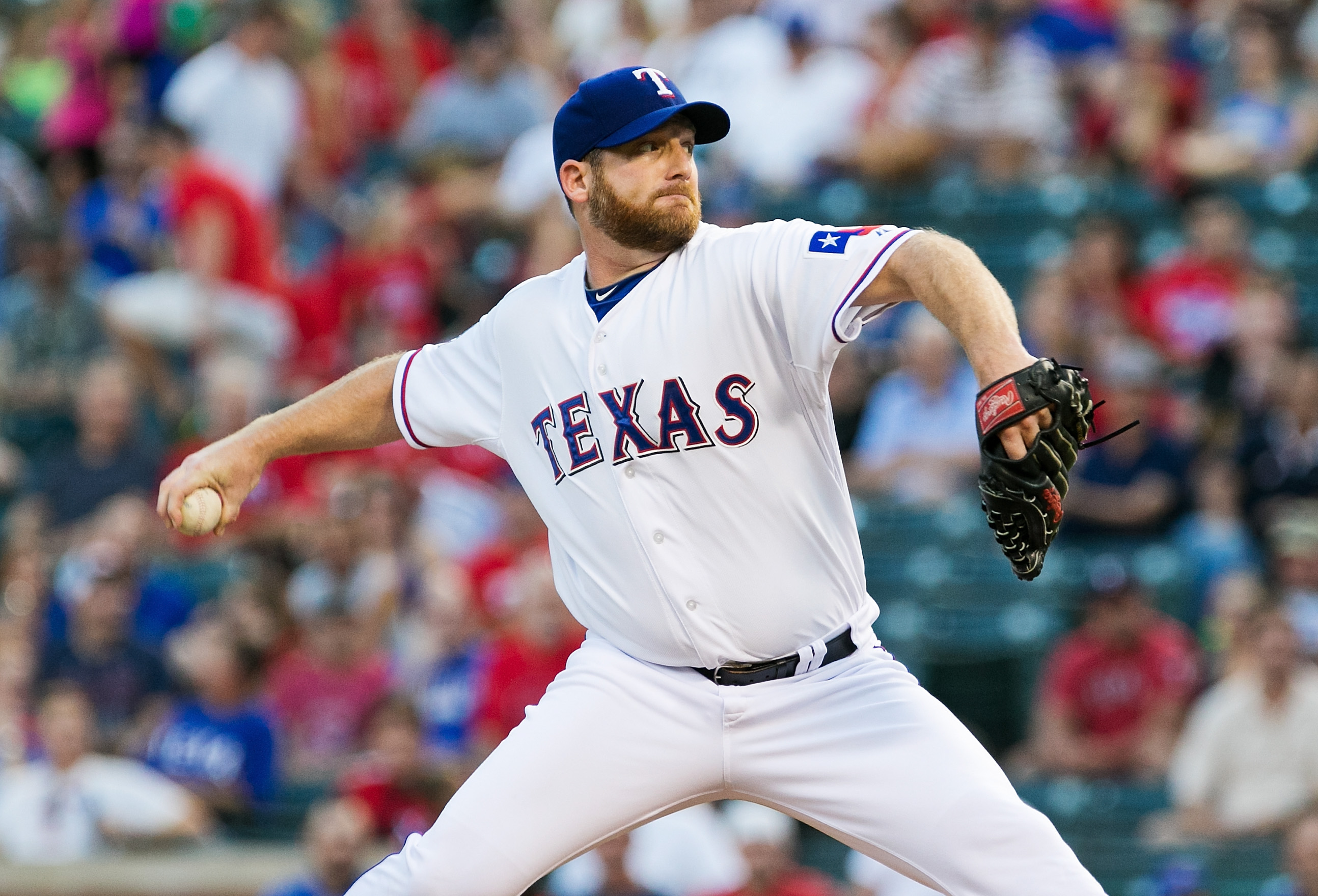 MLB: Cleveland Indians at Texas Rangers