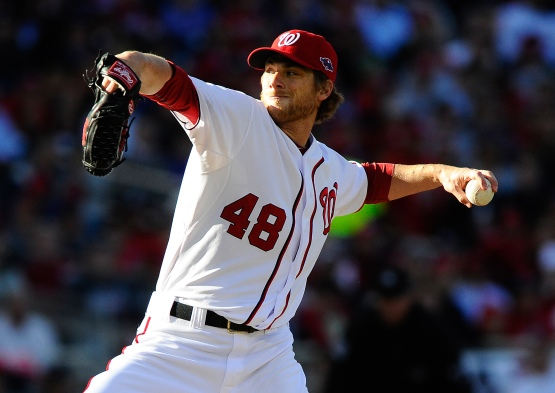 MLB: NLDS-St. Louis Cardinals at Washington Nationals
