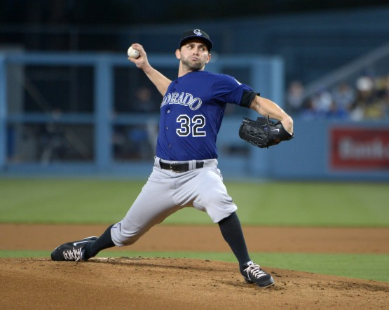 MLB: Colorado Rockies at Los Angeles DodgersB