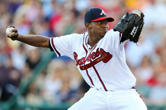 Julio Teheran boasts a 2.77 ERA and 0.92 WHIP since the start of May