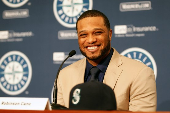 MLB: Seattle Mariners-Robinson Cano press conference
