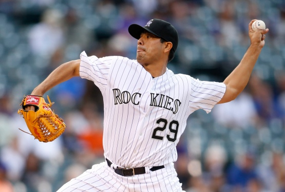 MLB: New York Mets at Colorado Rockies