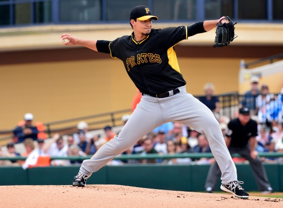 MLB: Spring Training-Pittsburgh Pirates at Detroit Tigers