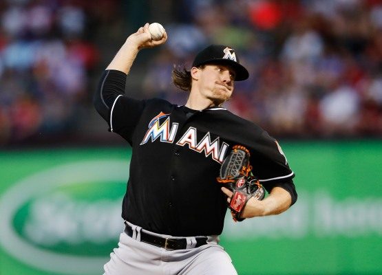 MLB: Miami Marlins at Texas Rangers