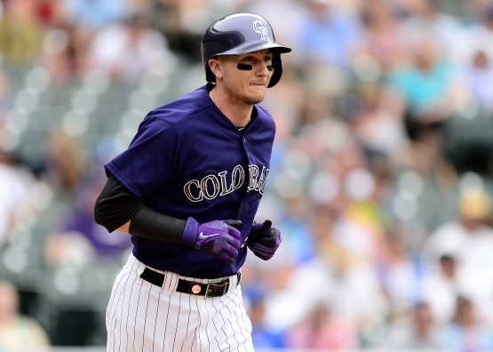 MLB: Los Angeles Dodgers at Colorado Rockies