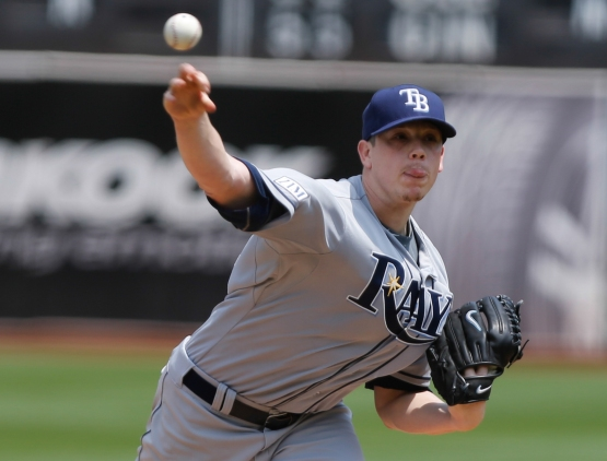 MLB: Tampa Bay Rays at Oakland Athletics