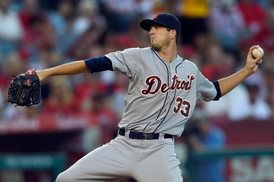 MLB: Detroit Tigers at Los Angeles Angels