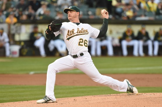 MLB: New York Mets at Oakland Athletics