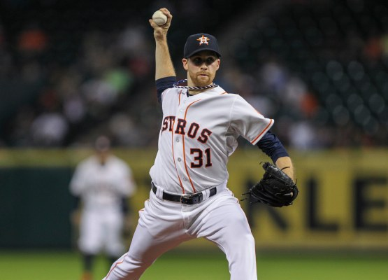 Collin McHugh has allowed 2 ER or less in each of his last seven starts