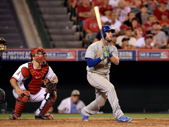 MLB: ALDS-Kansas City Royals at Los Angeles Angels