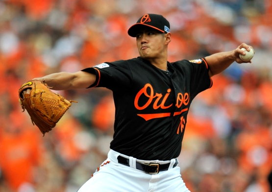MLB: ALDS-Detroit Tigers at Baltimore Orioles