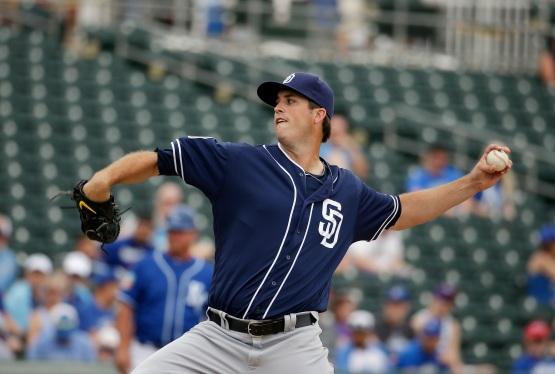Padres Royals Spring Baseball